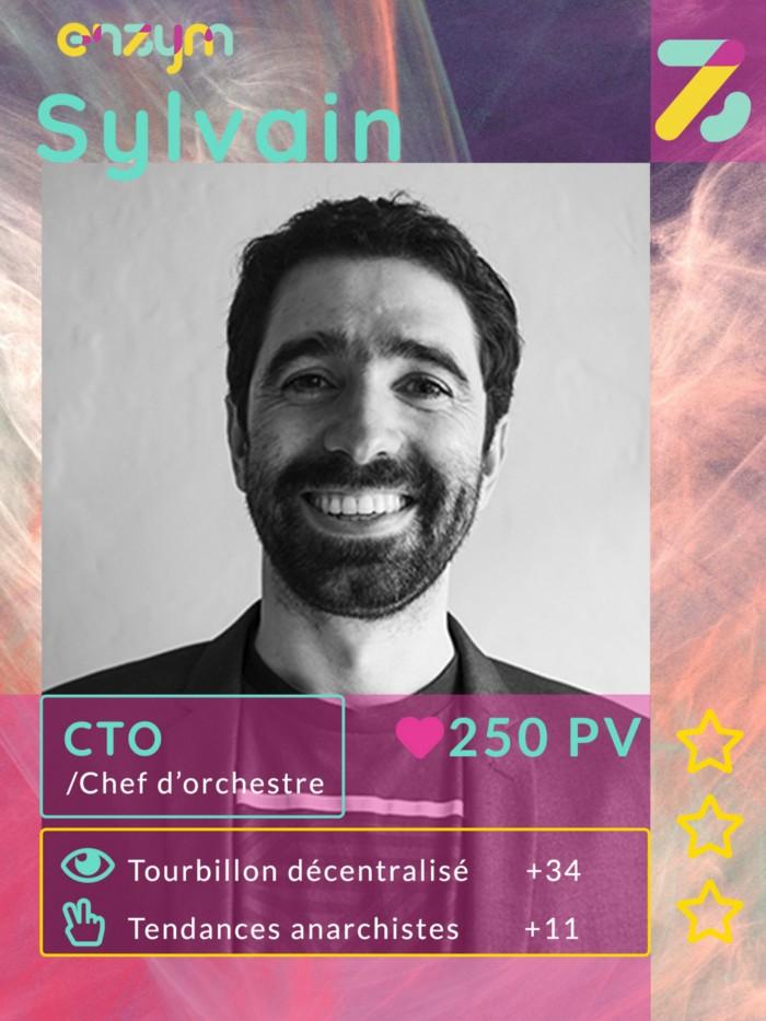 Sylvain est l'un des co fondateur d'enzym, il est spécialiste en cryptographie